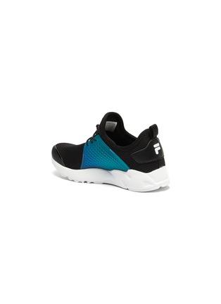 细节 - 点击放大 - FILA - 幼儿款logo拼贴网眼布运动鞋