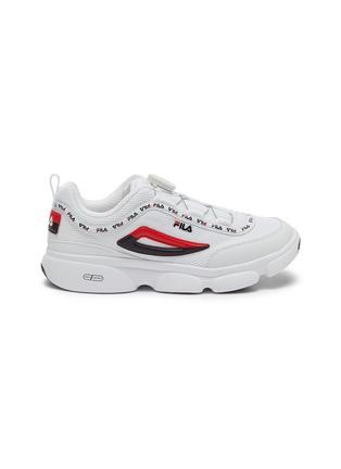 首图 - 点击放大 - FILA - Disruptor儿童款logo真皮拼接网眼布运动鞋