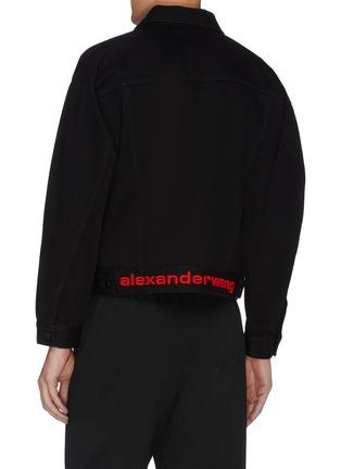 - ALEXANDER WANG - x 连卡佛中性款logo刺绣牛仔夹克
