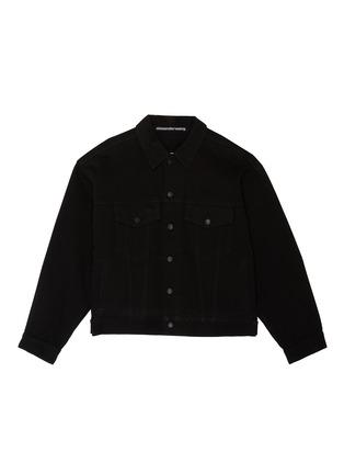 首图 - 点击放大 - ALEXANDER WANG - x 连卡佛中性款logo刺绣牛仔夹克