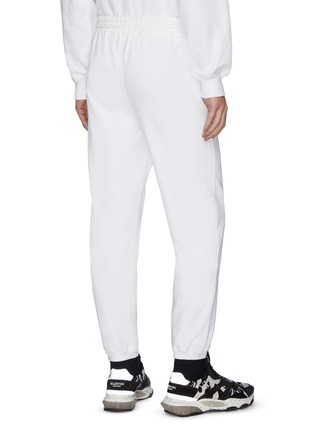 - alexander wang - x 连卡佛Bling中性款仿水晶logo纯棉休闲裤