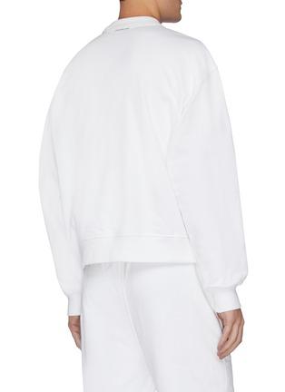 - ALEXANDER WANG - x 连卡佛Bling中性款仿水晶logo纯棉卫衣