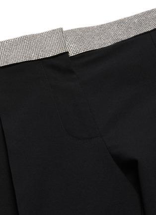 - ALEXANDER WANG - x 连卡佛logo仿水晶裤腰长裤