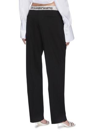 背面 - 点击放大 - ALEXANDER WANG - x 连卡佛logo仿水晶裤腰长裤