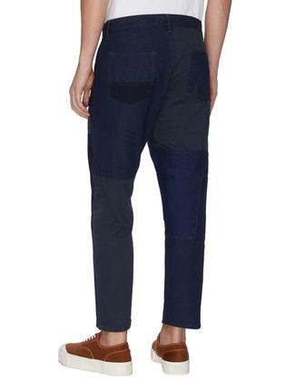 背面 - 点击放大 - FDMTL - 日式刺绣拼贴纯棉长裤