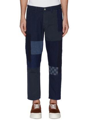 首图 - 点击放大 - FDMTL - 日式刺绣拼贴纯棉长裤