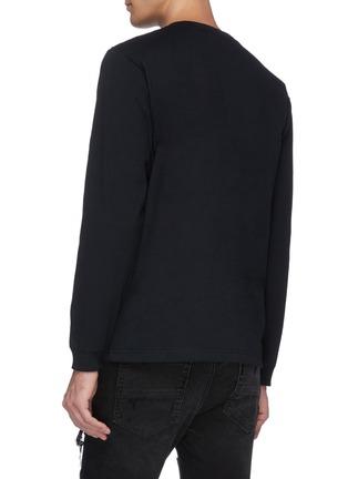 背面 - 点击放大 - FDMTL - 日式刺绣图案品牌名称长袖T恤