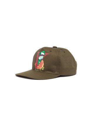 首图 - 点击放大 - VALENTINO - VALENTINO GARAVANI X UNDERCOVER玫瑰人像图案纯棉棒球帽