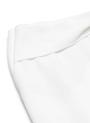 - ROLAND MOURET - SHERBROOK垂坠布饰褶裥羊毛阔腿裤