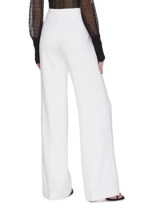 背面 - 点击放大 - ROLAND MOURET - SHERBROOK垂坠布饰褶裥羊毛阔腿裤