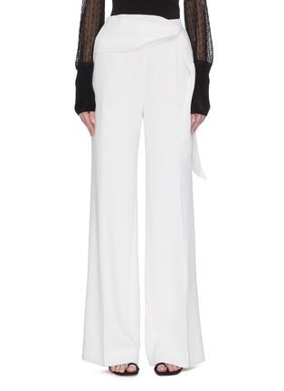 首图 - 点击放大 - ROLAND MOURET - SHERBROOK垂坠布饰褶裥羊毛阔腿裤