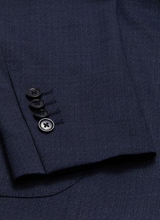 - Lardini - 平驳领防泼水混羊毛西服外套