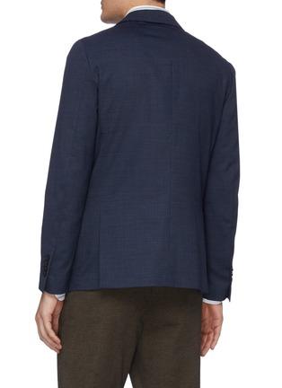 背面 - 点击放大 - Lardini - 平驳领防泼水混羊毛西服外套