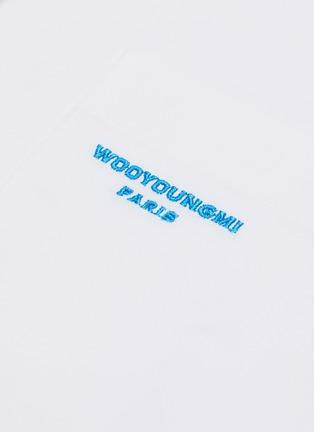 - WOOYOUNGMI - 品牌名称刺绣纯棉衬衫