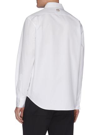 背面 - 点击放大 - WOOYOUNGMI - 品牌名称刺绣纯棉衬衫