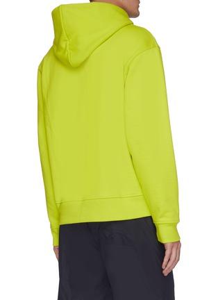 背面 - 点击放大 - ACNE STUDIOS - 品牌名称标签连帽混棉卫衣