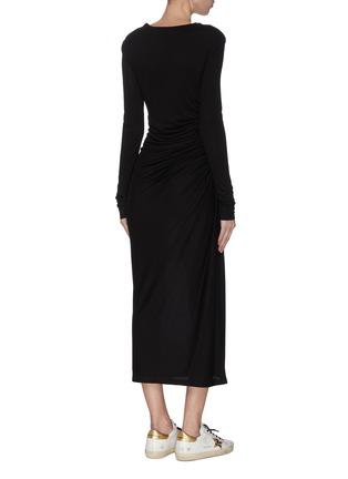 背面 - 点击放大 - NINETY PERCENT - 褶裥连衣裙