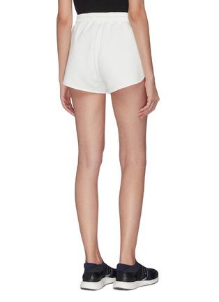 背面 - 点击放大 - NINETY PERCENT - Farrah抽绳裤腰有机棉短裤