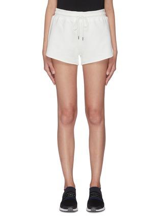 首图 - 点击放大 - NINETY PERCENT - Farrah抽绳裤腰有机棉短裤