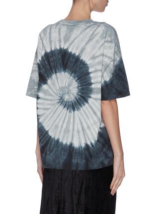 背面 - 点击放大 - NINETY PERCENT - 扎染抽象图案有机棉T恤