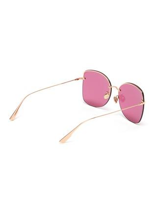 模特儿示范图 - 点击放大 - DIOR - DIOR STELLAIRE 7蝴蝶形OVERSIZE太阳眼镜