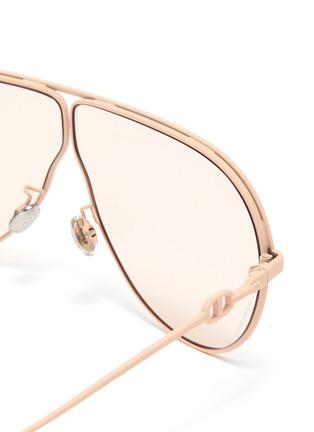 细节 - 点击放大 - Dior - DIOR CAMP oversize金属太阳眼镜