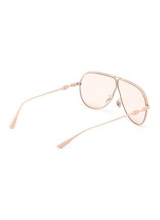 模特儿示范图 - 点击放大 - Dior - DIOR CAMP oversize金属太阳眼镜