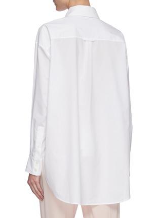 背面 - 点击放大 - ACNE STUDIOS - 纯棉府绸衬衫