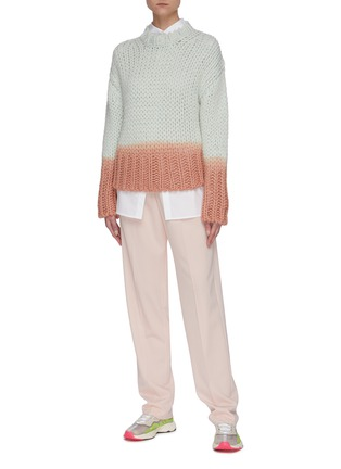 模特儿示范图 - 点击放大 - ACNE STUDIOS - 纯棉府绸衬衫