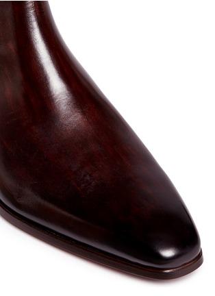 细节 - 点击放大 - MAGNANNI - 真皮切尔西靴