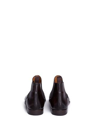 背面 - 点击放大 - MAGNANNI - 真皮切尔西靴