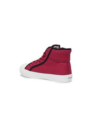 细节 - 点击放大 - WiNK - GUMMY儿童款眨眼图案拉链运动鞋