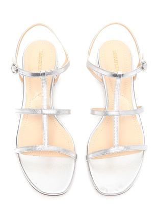 细节 - 点击放大 - NICHOLAS KIRKWOOD - CASATI人造珍珠点缀搭带真皮凉鞋