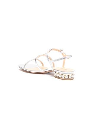 - NICHOLAS KIRKWOOD - CASATI人造珍珠点缀搭带真皮凉鞋