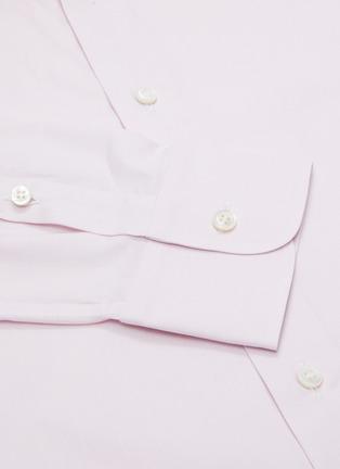 - BRIONI - MICRO纯棉牛津布衬衫