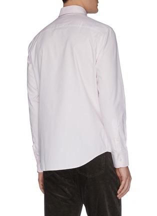 背面 - 点击放大 - BRIONI - MICRO纯棉牛津布衬衫