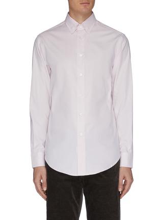 首图 - 点击放大 - BRIONI - MICRO纯棉牛津布衬衫