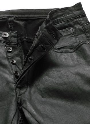 - Rick Owens DRKSHDW - 涂层弹性棉料牛仔裤