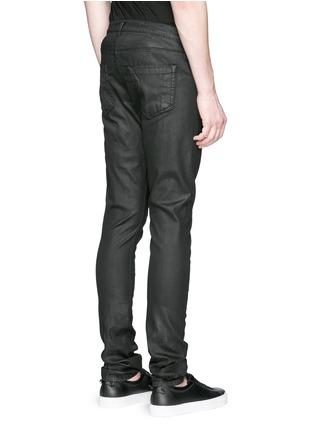 背面 - 点击放大 - Rick Owens DRKSHDW - 涂层弹性棉料牛仔裤