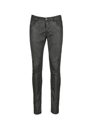 首图 - 点击放大 - Rick Owens DRKSHDW - 涂层弹性棉料牛仔裤
