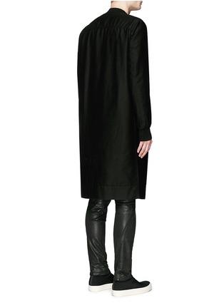 背面 - 点击放大 - RICK OWENS DRKSHDW - 长款棉质大衣