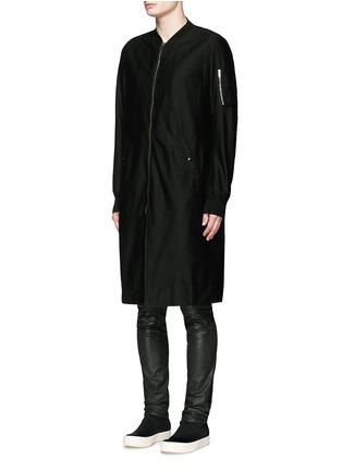 正面 -点击放大 - RICK OWENS DRKSHDW - 长款棉质大衣