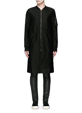 首图 - 点击放大 - RICK OWENS DRKSHDW - 长款棉质大衣