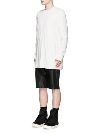 正面 -点击放大 - RICK OWENS DRKSHDW - 双层纯棉上衣