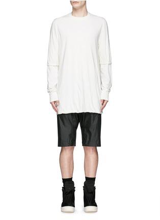 首图 - 点击放大 - RICK OWENS DRKSHDW - 双层纯棉上衣