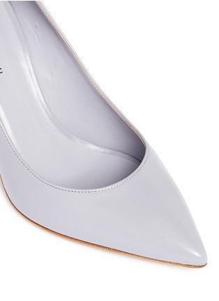 细节 - 点击放大 - FABIO RUSCONI - NATALY尖头真皮高跟鞋