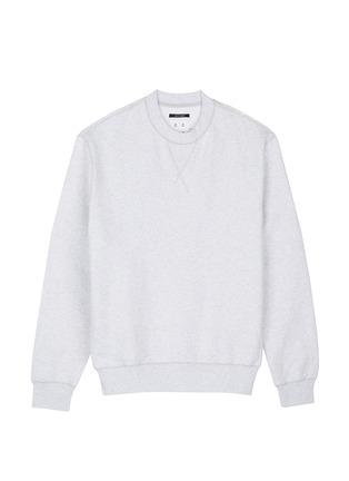 模特示范图 - 点击放大 - STUDIO CONCRETE - 中性款心情数字纯棉卫衣