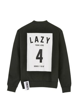 首图 - 点击放大 - STUDIO CONCRETE - 'Series 1 to 10' unisex sweatshirt - 4 Lazy