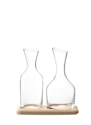 首图 - 点击放大 - LSA - WINE酒瓶及水瓶连橡木托盘套装