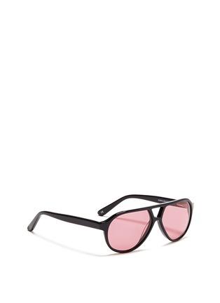 模特儿示范图 - 点击放大 - SONS + DAUGHTERS - ROCKY飞行员太阳眼镜